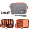 Image of Waterproof Double Layer Travel USB Cable Organizer Storage Bag