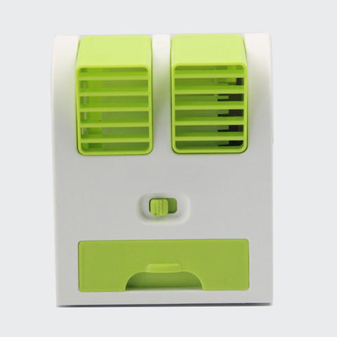 Mini USB Bladeless Air-conditioning Fan
