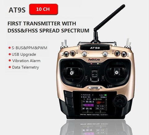 Remote Control System 10-Channel 2.4G Transmitter Receiver
