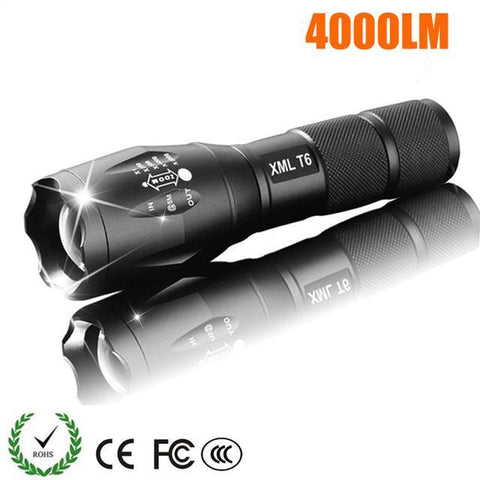 Powerful Torch Flashlight 4000 Lumens