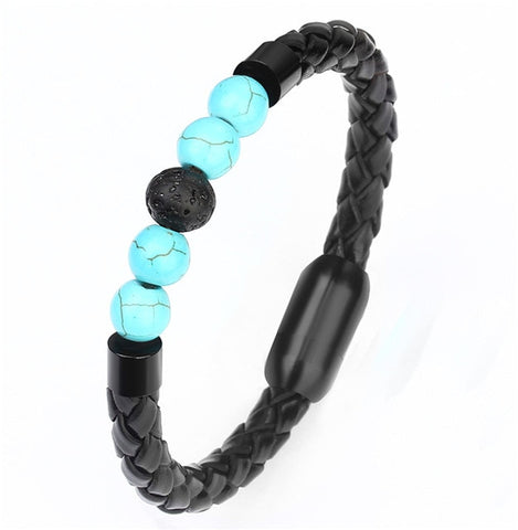 Chakra Stone Beads Bracelet for Men