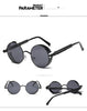 Image of Metal Round Vintage Steampunk Sunglasses