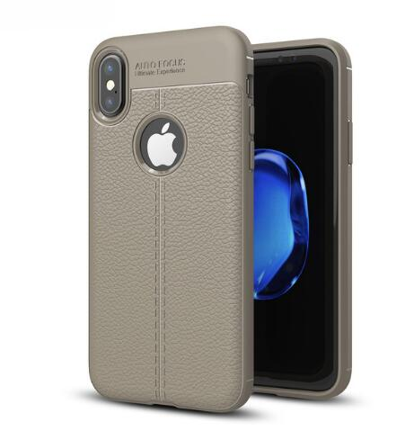 Ultra Thin Leather Texture Phone case For iPhone
