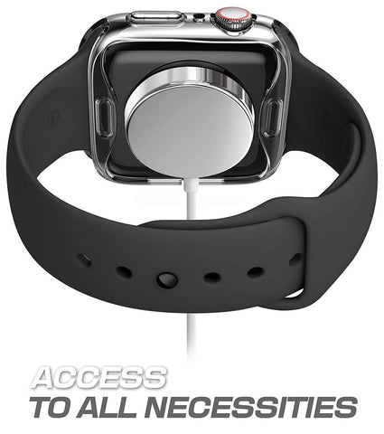 Transparent Screen Protector Case for Apple Watch Series 4/3/2/1