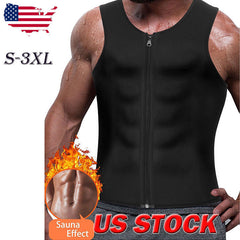 New Men's Slimming Neoprene Vest