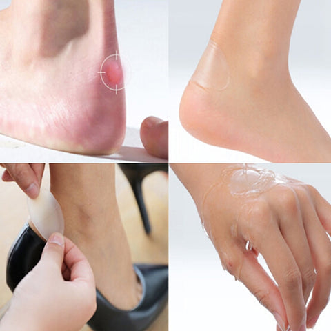 4 pcs/lot MIRACLE HEEL BLISTER PLASTER