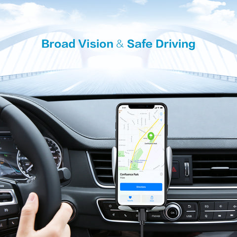 Smart Sensor Car Wireless Charger