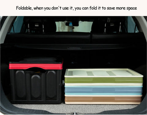 Multi-function Collapsible Car Trunk Organizer
