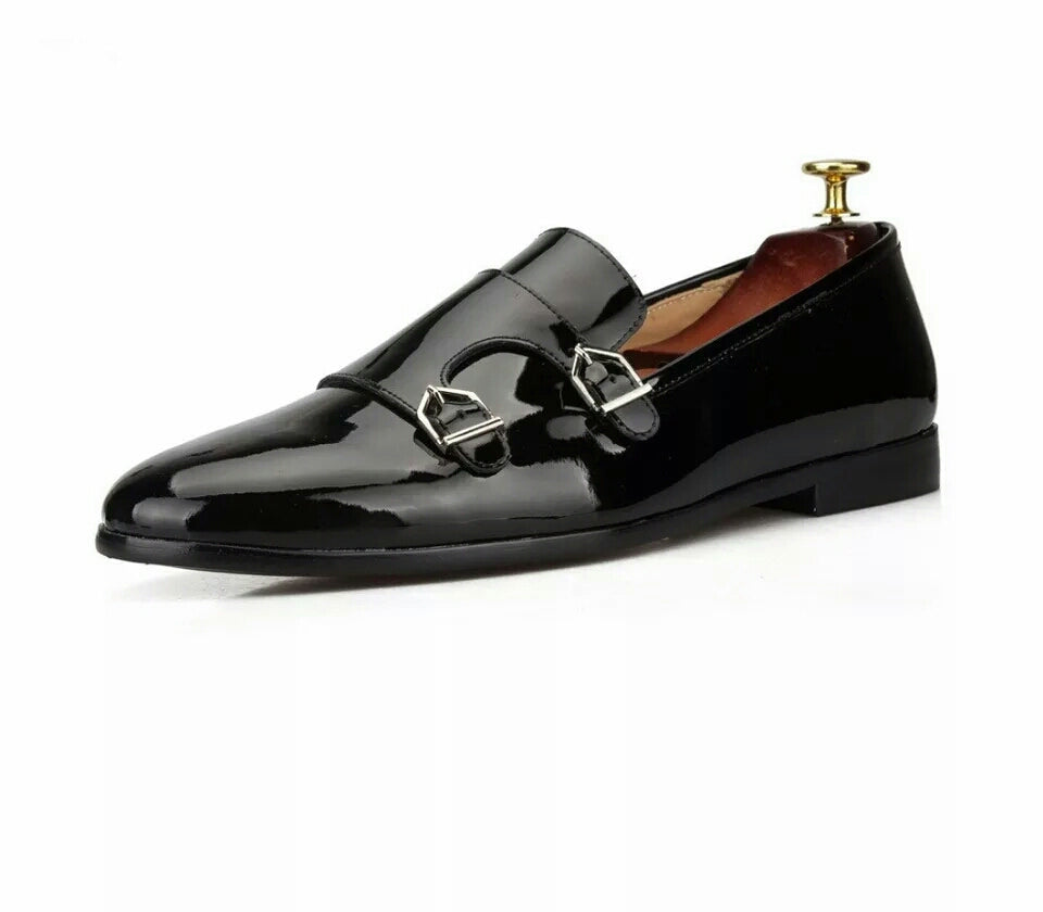 Men Double-Monk Loafers