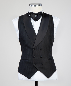 Men Suit + Vest+ Pants
