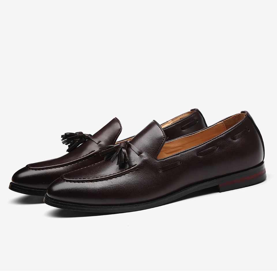 Men's Brown Leather loafers