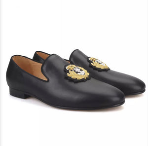 Men's India embroidery loafers