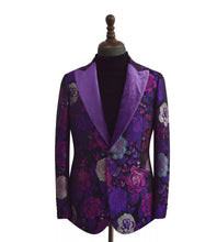 Men's Purple Custom Tuxedo
