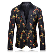 Mens Black Stage Blazer
