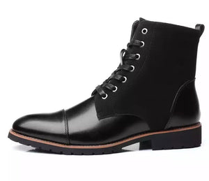 Men's Black Winter Boots