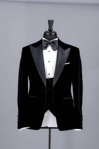 Men's black Dinner Tuxedo