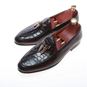 Men's Brown Italian leather Loafers