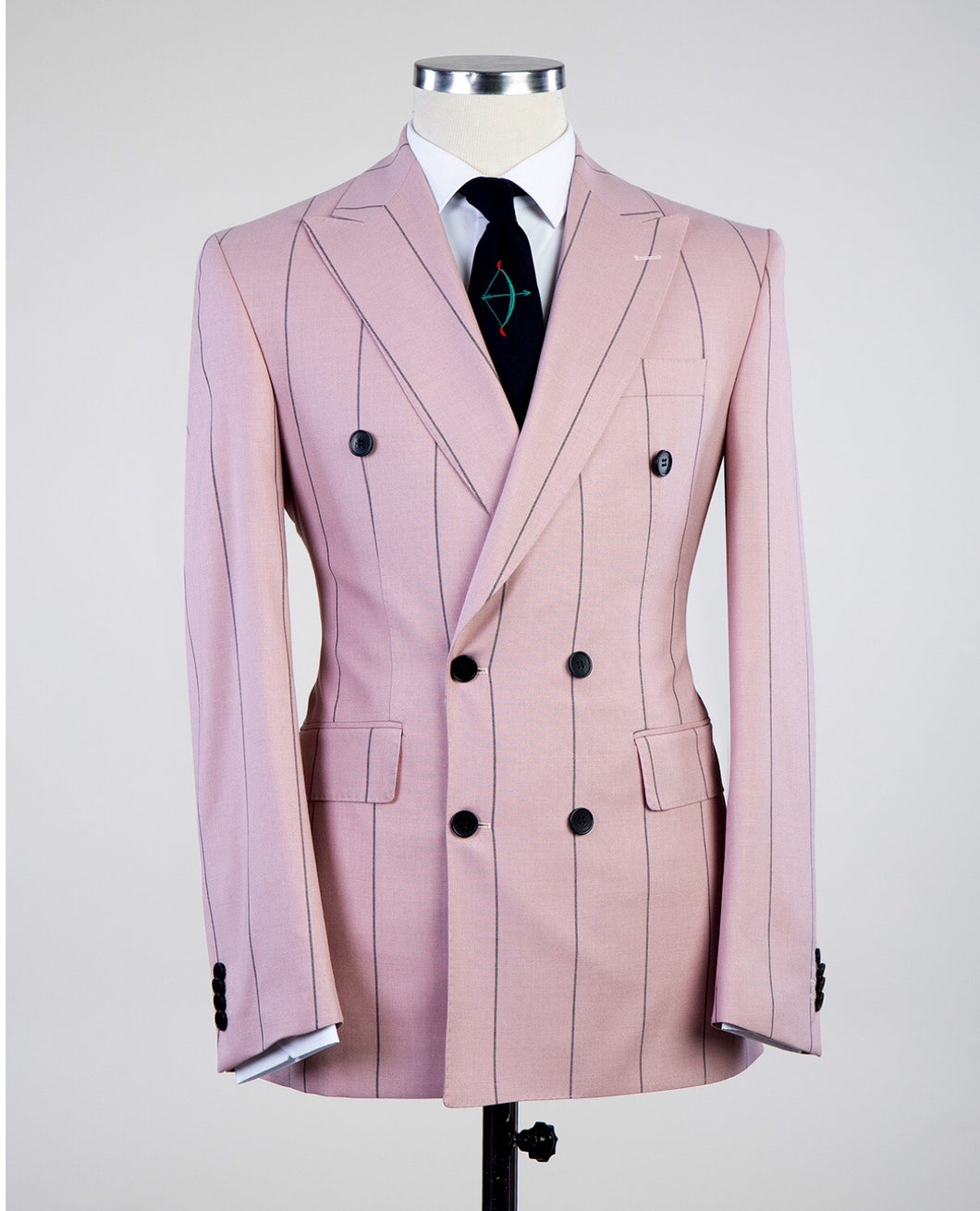 Men DOUBLE BREASTED Suit + Pants