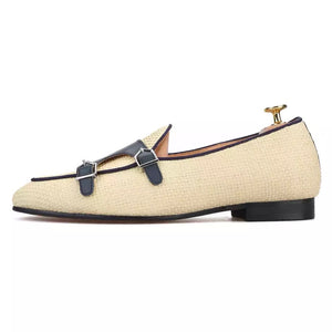 Men's double-monk BELGIAN Loafers