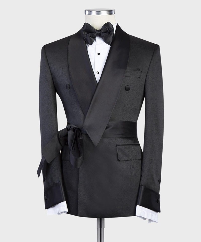 Men's Black Tuxedo + Pants