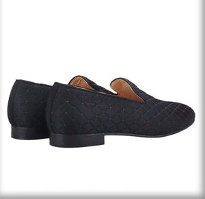 Men's Classic Black Loafers