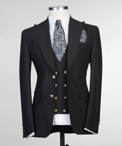 Men's Suit + Vest + Pants