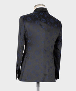 Men's black Navy Blue Tuxedo 2pc tuxedo
