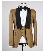 Men's Gold 3pc SUIT