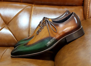 Men's Wingtip Oxford Shoes