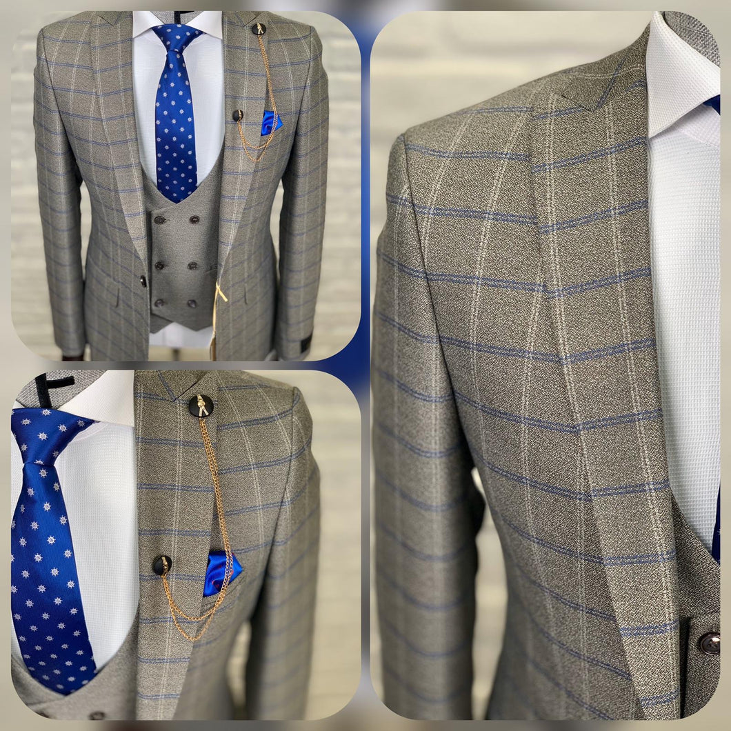 Men's Business 3 Piece Suit
