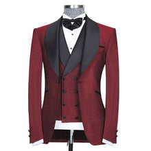 Men's Classic 3Pc Red Tuxedo