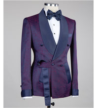Men's Purple Tuxedo  + Pants