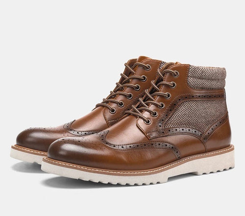 Men's Brown Ankle Boots