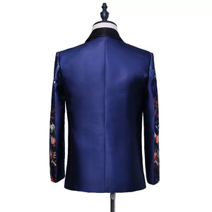 Men's 2 Piece Blue Navy Tuxedo
