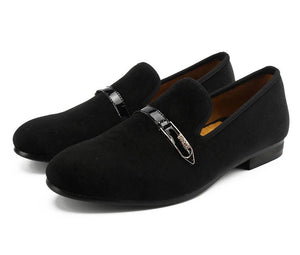 Men Buckle Loafers
