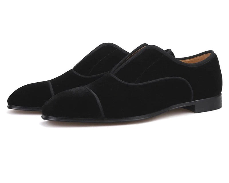 Men's Black Handmade British Loafers