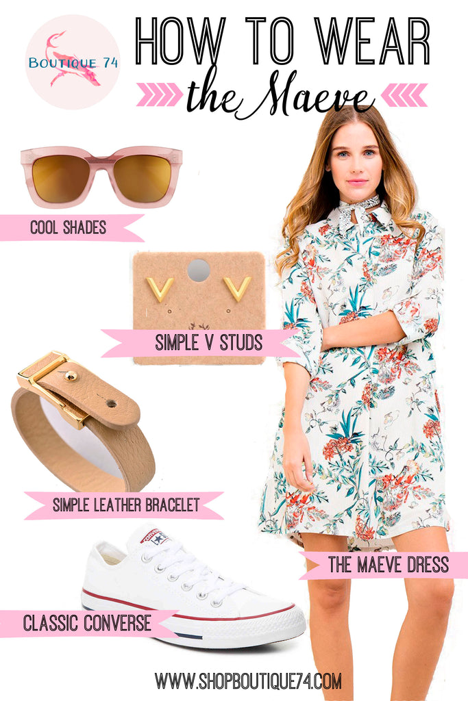 How to wear: the Maeve