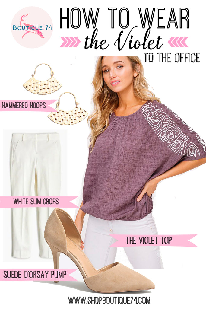 How to wear: the Violet