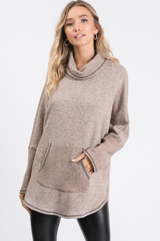 Casey Textured Pullover