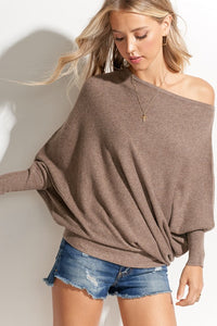Reese Off the Shoulder Spring Sweater