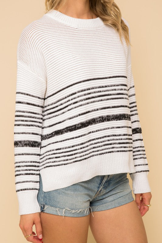 Kora Stripe Spring Sweater