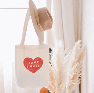 Shop Small Canvas Tote Bag