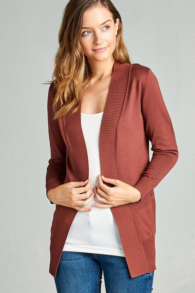 Alie Open cardigan
