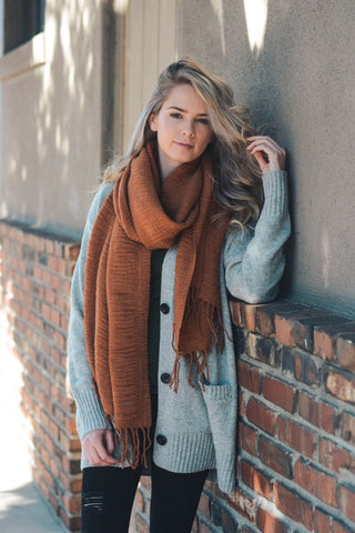 Soft Ridge Scarf