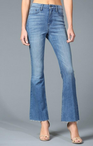 Ilona High Rise Flare Denim Jeans