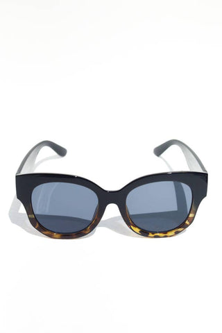 Oversized Moodie Sunglasses - Ombre