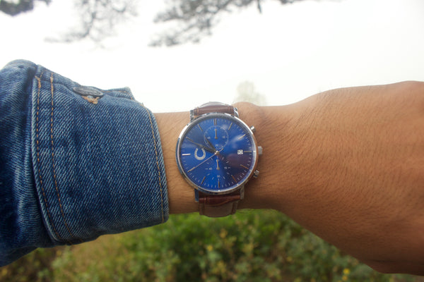 Sapphire Date Chronograph