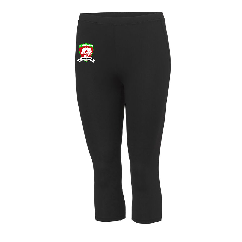 North Dragons Adult Capri Legging