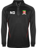 North Dragons Junior 1/4 Zip Training Jacket