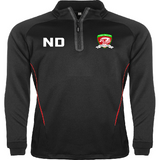 North Dragons Adult 1/4 Zip Training Jacket